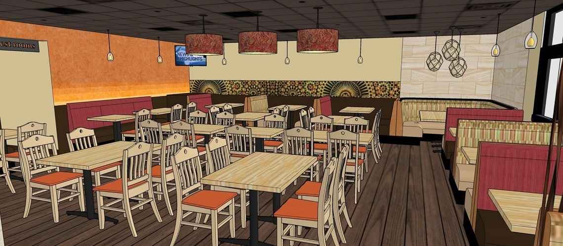 The architectural design of Curry Corner Tempe